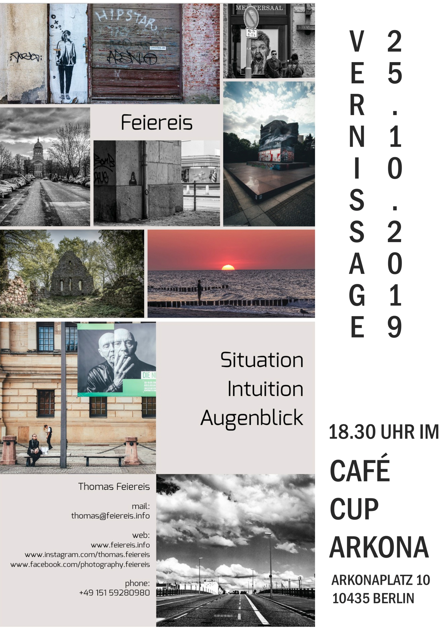 Vernissage Cafe Cup Arkona Berlin